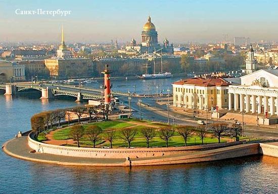Санкт-Петербург: вид с высоты