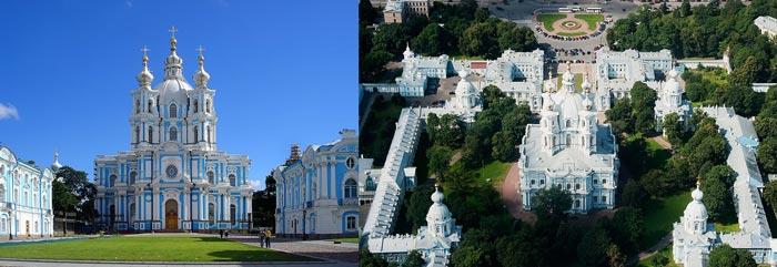 Санкт-Петербург: Смольный собор
