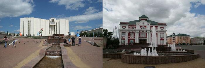 Саранск: Советская площадь