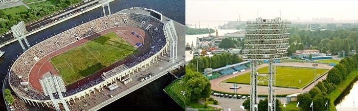 Санкт-Петербург: стадион Петровский