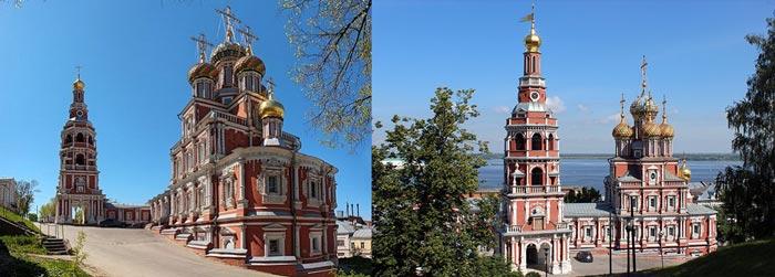 Нижний Новгород: Строгановсая или Рождественская церковь