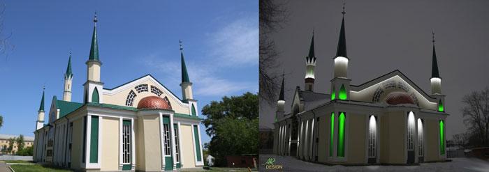 Саранск: центральная мечеть Ааль-Мансур