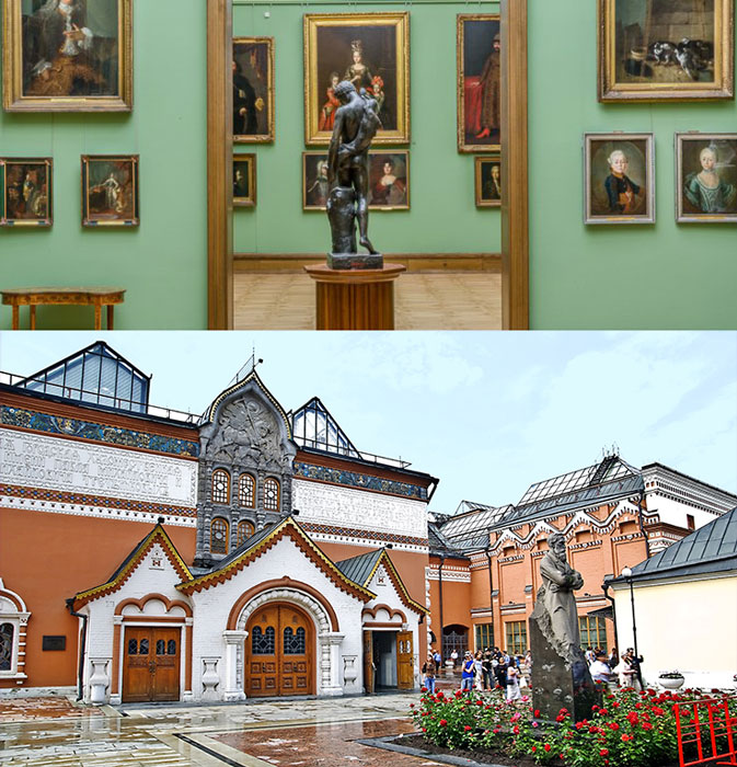 Москва: Третьяковская галерея