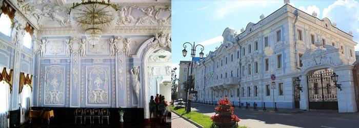 Нижний Новгород: усадьба Рукавишниковых