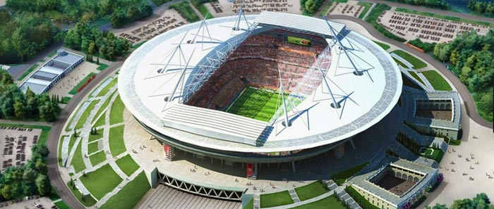 Санкт-Петербург: стадион Зенит-Арена