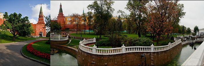 Москва: пути в Кремль