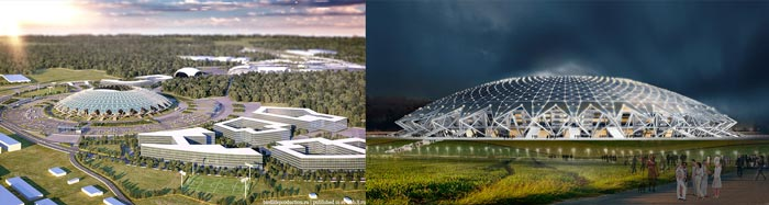 Самара: стадион Космос-Арена