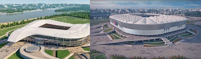 Ростов-на-Дону стадион Ростов-Арена