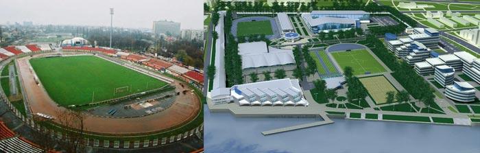 Санкт-Петербург: стадион динамо