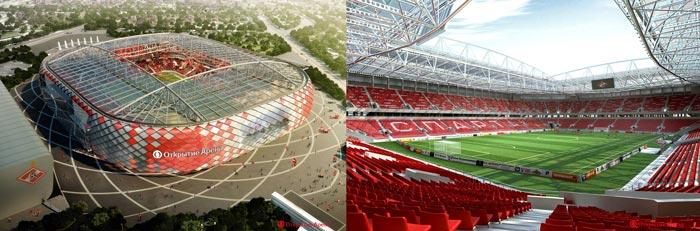 Москва стадион Спартак
