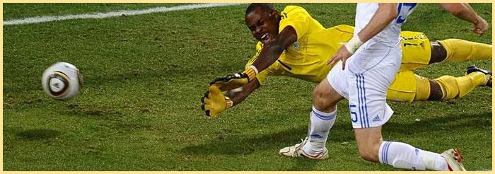 атака по воротам в футболе