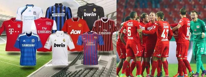 Футболки и футбольная команда