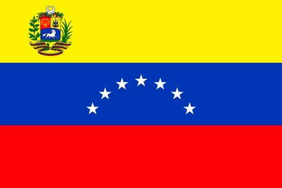 флаг сборной венесуэлы