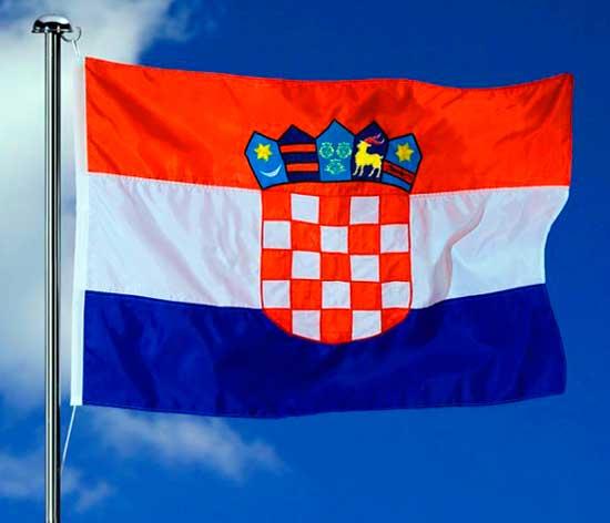 Флаг сборной хорватии