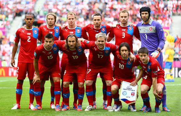 Сборная чехии по футболу 2018