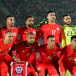 Состав сборной Чили по футболу на играх ЧМ 2018