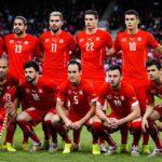 Состав сборной Швейцарии по футболу на играх ЧМ 2018