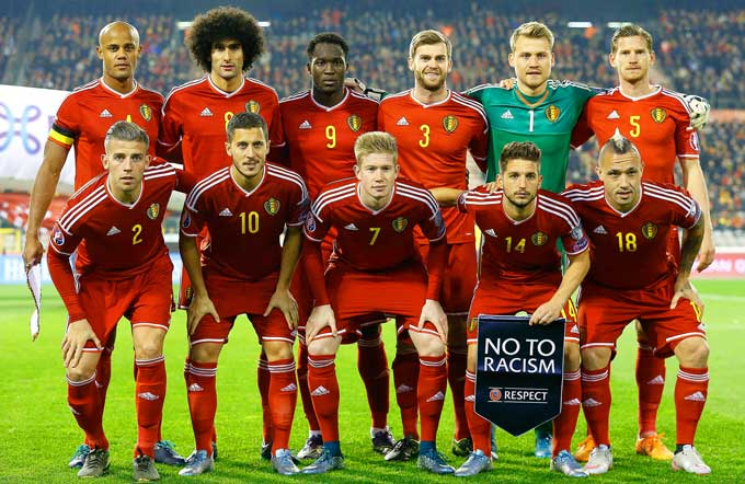 состав сборной бельгии 2018