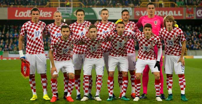 состав сборной хорватии