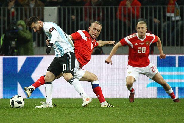Матч Россиян против Аргентины  в Москве