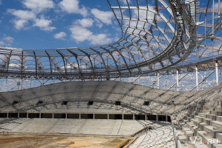 крыша волгоград арена