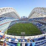 Реконструкция стадиона Фишт завершена в Сочи