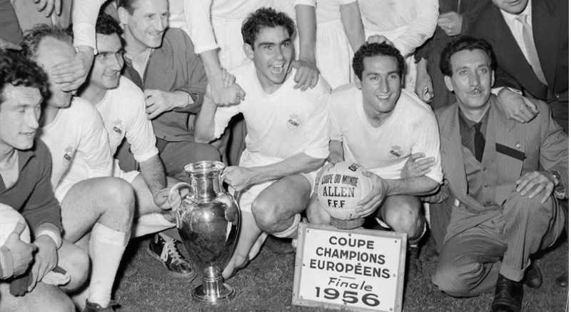 - Сезон 1956-1957 победитель Реал Мадрид (Испания)