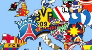 список самых рейтинговых клубов