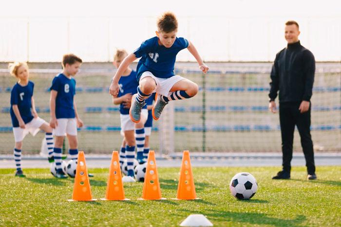 тренировка по футболу