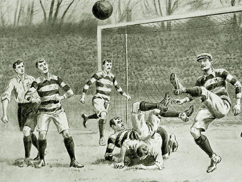 История возникновения футбола кратко - как и где появилась игра