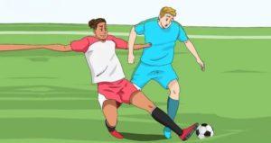 Для того, чтобы стать хорошим защитником в футболе нужно не бояться нападать
