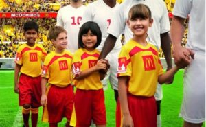 Зачем футболисты выходят на поле с детьми? Дети на футбольном поле-это 100% заряд на хорошую игру для каждого игрока