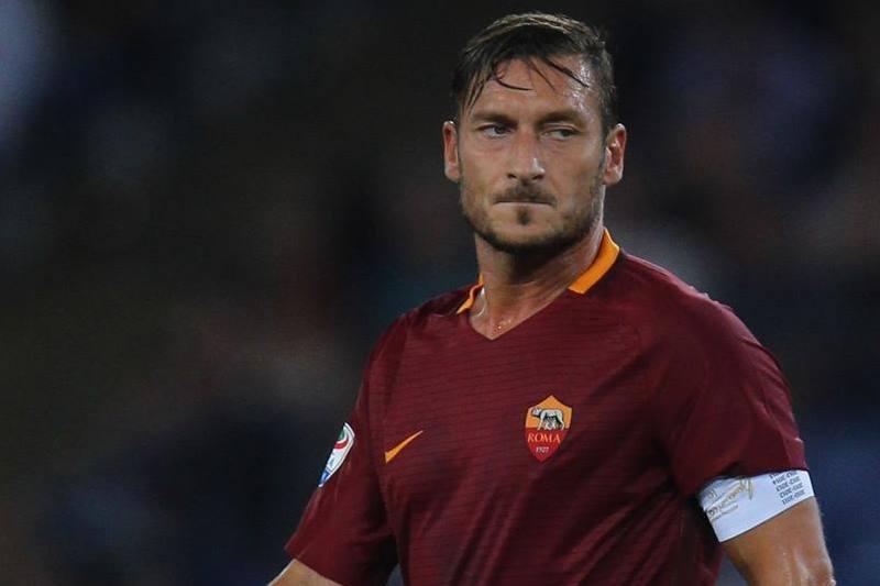 Профессиональную карьеру Франческо Тотти посвятил футбольному клубу