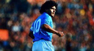 Диего Марадона-выдающийся футболист. Игрок в футбол с большой буквы