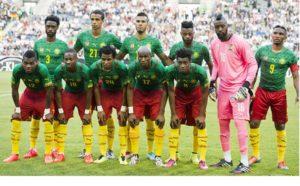 Сборная Камеруна по футболу представляет Камерун ан международных матчах по футболу
