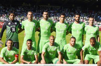 сборная в зеленых футболках
