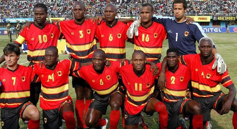 команда Анголы