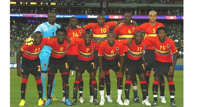 ангольские футболисты